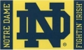 Notre Dame Fighting Irish NCAA 3  x 5  Flag