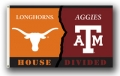 Texas A&M Aggies/ Texas Longhorns Rivalry 3 x 5 Flag