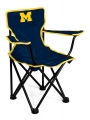 "Michigan Wolverines NCAA Canvas Tailgate ""Toddler"" Chair"