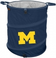 Michigan Wolverines NCAA Collapsible Trash Can
