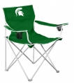 Michigan State Spartans NCAA Deluxe Nylon Tailgate Chair