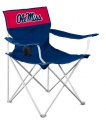 Ole Miss Rebels NCAA Canvas Tailgate Chair