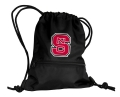 NC State Wolfpack NCAA Black School String Pack Backpack