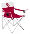 Oklahoma Sooners Big Boy Tailgating Lawn Chair