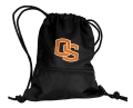 Oregon State Beavers NCAA Black School String Pack Backpack