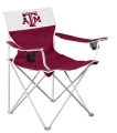 Texas A&M Aggies Big Boy Tailgating Lawn Chair