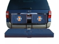 Illinois Fighting Illini Tailgating Hitch Seats-FREE SHIPPING