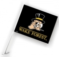 Wake Forest Demon Deacons NCAA Car Flag