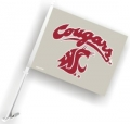 Washington State Cougars NCAA Car Flag