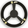 Oakland Athletics Leather Steering Wheel Cover