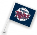Minnesota Twins MLB Car Flag