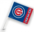 Chicago Cubs MLB Car Flag