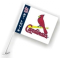 St. Louis Cardinals MLB Car Flag