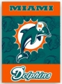 "Miami Dolphins NFL 28"" x 40"" 2-Sided Banner"