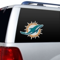 "Miami Dolphins Glass Tatz NFL Logo ""CUTZ"" Side Windshield Graphic/Decal"