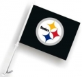 Pittsburgh Steelers NFL Car Flag