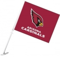 Arizona Cardinals NFL Car Flag
