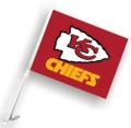 Kansas City Chiefs NFL Car Flag