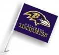 Baltimore Ravens NFL Car Flag