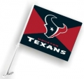 Houston Texans NFL Car Flag