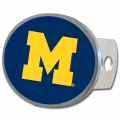 Michigan Wolverines Oval Hitch Cover