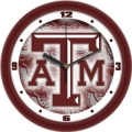 "Texas A&M Aggies 12""  NCAA Wall Clock"