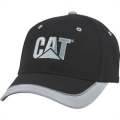 Caterpillar CAT Black Chino Tech Mesh Cap