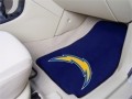 San Diego Chargers NFL 2 Pc Universal Car/SUV/Truck Floor Mats