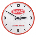 Peterbilt Motors Diamond Plate Wall Clock