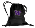Washington Huskies NCAA Black School String Pack Backpack