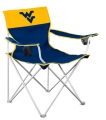West Virginia Mountaineers Big Boy Tailgating Lawn Chair