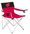 Wisconsin Badgers Big Boy Tailgating Lawn Chair