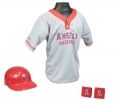Los Angeles Angels MLB Youth Helmet and Jersey Set