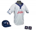 Cleveland Indians MLB Youth Helmet and Jersey Set