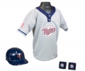 Minnesota Twins MLB Youth Helmet and Jersey Set