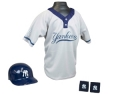 New York Yankees MLB Youth Helmet and Jersey Set