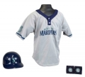 Seattle Seahawks MLB Youth Helmet and Jersey Set
