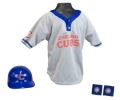 Chicago Cubs MLB Youth Helmet and Jersey Set