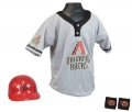 Arizona Diamondbacks MLB Youth Helmet and Jersey Set