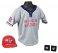 Washington Nationals MLB Youth Helmet and Jersey Set