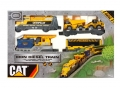 Caterpillar CAT Construction Iron Diesel Toy Train Set