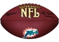 Miami Dolphins Collectible Composite NFL Wilson Football