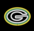 Green Bay Packers NFL Logo Commercial Grade Neon Pub Sign-FREE SHIPPING