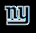 New York Giants Commercial Grade NFL Neon Pub Sign-FREE SHIPPING