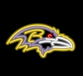 Baltimore Ravens NFL Logo Neon Sign-FREE SHIPPING