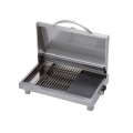 "Portable 20"" Stainless Steel Electric Grill"