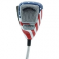 Astatic 636L Noise Canceling 4-Pin Stars N' Stripes CB Microphone