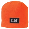 Caterpillar CAT Mens Hi-Vis Hunter Safety Orange Knit Winter Beanie Cap