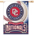 "Washington Nationals MLB 27"" x 37"" Vertical Outdoor Flag"