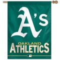 "Oakland Athletics MLB 27"" x 37"" Vertical Outdoor Flag"